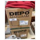 2 DEPO Headlights - #VNL-VNM Series 00-11 Trucks