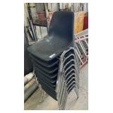 10 Stack Chairs