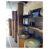 14 Cardboard Barrels - Several Sizes