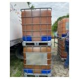 Two 250 Gal Agricultural Tanks