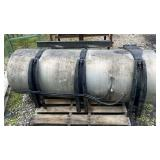 150 Gallon Fuel Tank w/Mounting Brackets