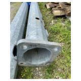 Steel Galvanized Light Pole - 30.5ft.