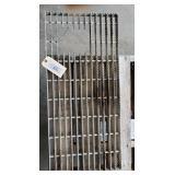 Aluminum Grating 15.75 x 33.75 Hydro Hose Opening