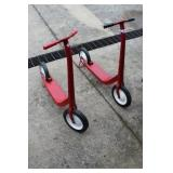 Two Metal Scooters
