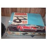 Vintage Aurora Race Set