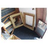 3 Frames & Old Mirror