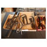 3 Flats of Vintage Tools