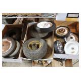 Three Flats of Small Wheel & Tires