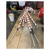 15 Candy Cane Decorations