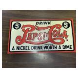 Contemporary Pepsi-Cola Sign