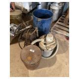 Grease Pump, Barrel, Vac & Misc.
