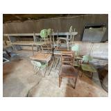 Lot of School Chairs & Desks