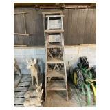 Five Wood Ladders