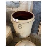 6 Gal Stoneware Crock Jar