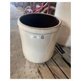8 Gal Stoneware Crock Jar