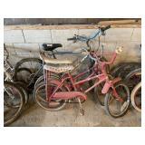 3 Bicycles, 2 Children