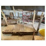 Antique Warehouse Cart