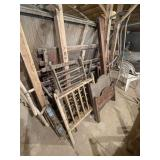 Youth Bed, Antique Playpen Etc.
