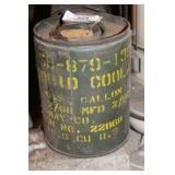 Liquid Coolant Can