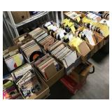 2,500+/- 45 rpm records from the 1960