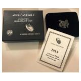2013 W Silver American Eagle