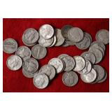 38 Silver Mercury Dimes