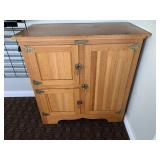 Contemporary Ice Box Style Cabinet