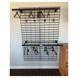 Wall Mounted Clothing Rack