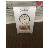 Titleist Double Sided Clock