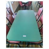 Dbl  Pedestal Dining Table
