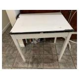 Wood/Porcelain Top Table