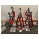 6 Stanchions