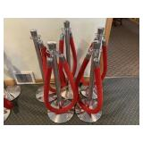 5 Stanchions