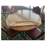 Round Single Pedestal Table