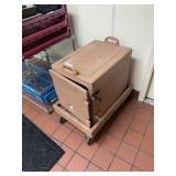 Cambro Insulated Tray Holder w/Dolly