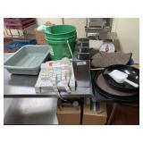 Plastic Trays, Scale & Misc.