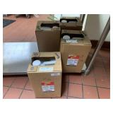 Lot of 4 35lb Containers of Frying Oil