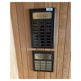 3 Eagle Valley Club Champion Plaques