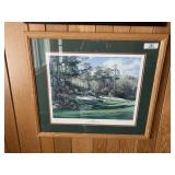Artist Signed Limited Edition Golf Print