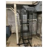 Rolling Wire Display Rack