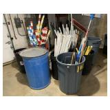 Trash Cans, Golf Course Markers, & Misc.