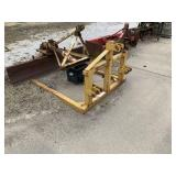 3-Point Bale Mover Tractor Attachment