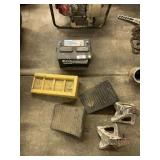 Jack Stands, Battery, Wheel Chalks