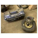 Kobalt Tool Box, Tire, & Misc.