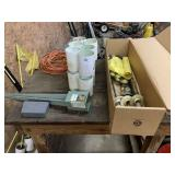 Rolling Table, Golf Flags, Cups, & Misc.