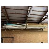 Lot of PVC Pipe, Plumber, & Misc.