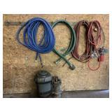 Large Pump & Water Hoses