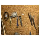 Cobalt Pipe Wrench, Saws, & Misc.