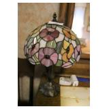 Contemporary Lead Glass Table Lamp