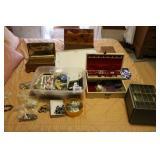 Jewelry Box & Costume Jewelry